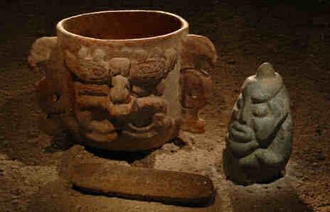 Maya voorwerpen