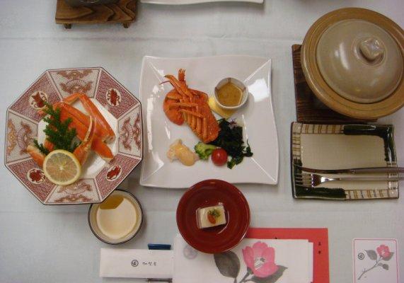 加賀屋晚餐1