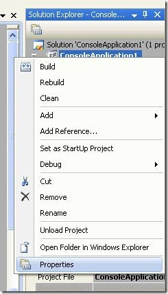 ProjectPropertyPage1